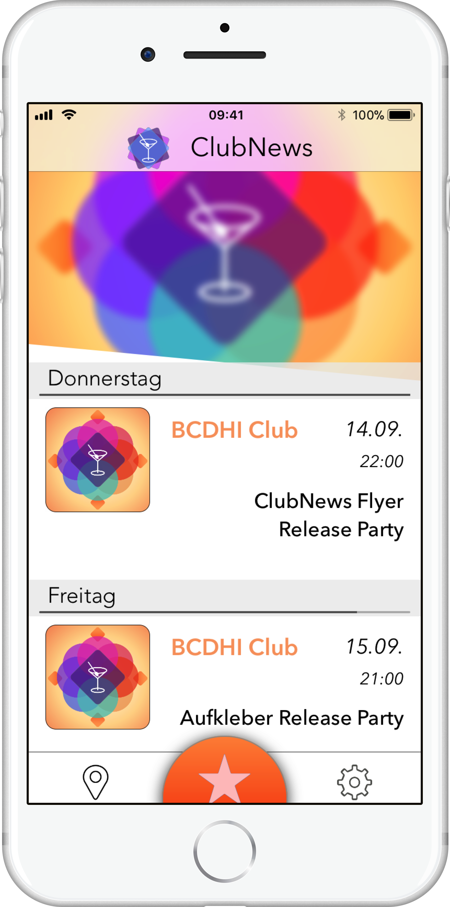 image of the app